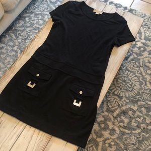 Michael Kors casual black dress